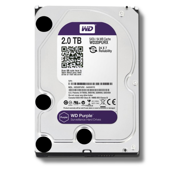 Жесткий диск 2 TB WD PURX