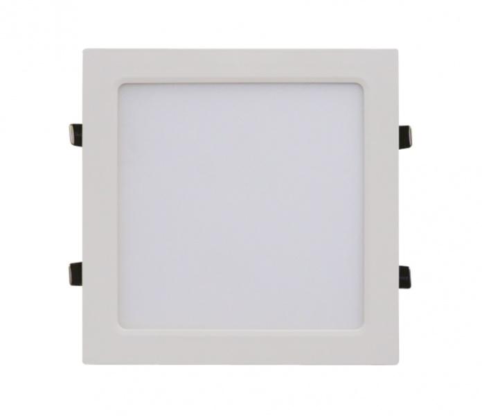 Панель светодиодная квадратная SLP-eco 18Вт 230В 4000К 1260Лм 225х225х23мм белая IP40